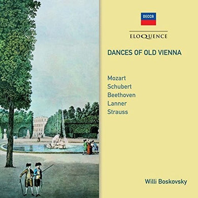 DANCES OF OLD VIENNA - VIENNA MOZART ENSEMBLE, BOSKOVSKY ENSEMBLE, I MUSICI (2 CDS)
