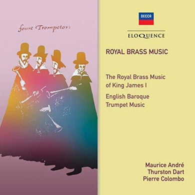 ROYAL BRASS MUSIC - MAURICE ANDRE, THURSTON DART