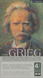 GRIEG: Symphonic, Chamber and Piano Works (4 CDs)