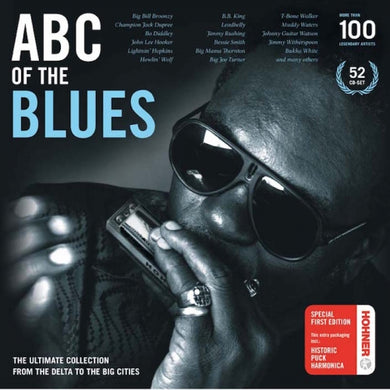 ABC OF THE BLUES (52 CDS - WITH FREE HOHNER HARMONICA)
