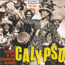 Load image into Gallery viewer, CALYPSO - SOUNDS OF THE CARIBBEAN ISLANDS (10 CDs)
