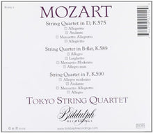 Load image into Gallery viewer, TOKYO STRING QUARTET PLAY MOZART