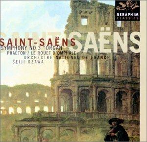 "SAINT-SAENS: SYM. NO. 3 ""ORGAN"": OZAWA, ORCHESTRE DE NATIONAL DE FRANCE"