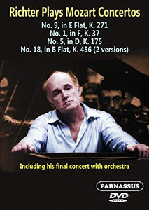 RICHTER PLAYS MOZART CONCERTOS (DVD)