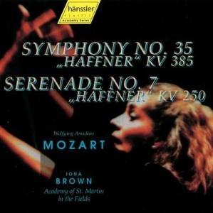 "Mozart: Symphony No. 35, ""Haffner"" & Serenade No. 7, ""Haffner"" - Iona Brown, Academy of St. Martin in the Fields"