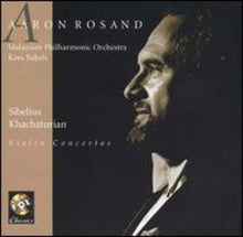 Load image into Gallery viewer, SIBELIUS & KHATCHATURIAN: VIOLIN CONCERTO - ROSAND, MAYLASIAN PHILHARMONIC