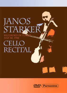 JANOS STARKER: CELLO RECITAL (DVD)
