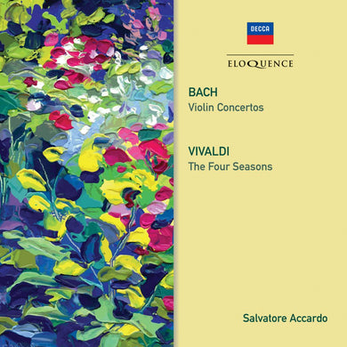 BACH: Violin Concertos; VIVALDI: The Four Seasons - Salvatore Accardo, Chamber Orchestra of Europe, I Solisti di Napoli (2 CDs)