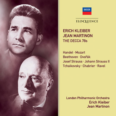 ERICH KLEIBER, JEAN MARTINON: THE DECCA 78S (2 CDS)