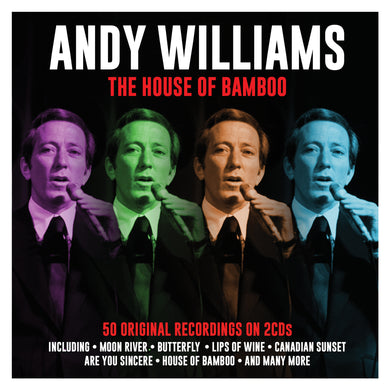 ANDY WILLIAMS: House Of Bamboo (2 CDs)