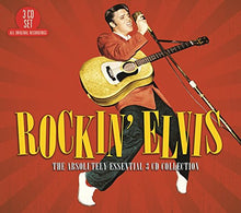 Load image into Gallery viewer, ELVIS PRESLEY: Rockin' Elvis - The Absolutely Essential Collection (3CDs)