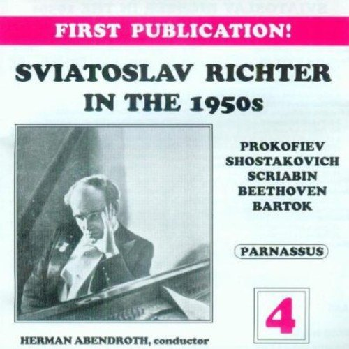 RICHTER IN THE 1950'S - VOLUME 4 (2 CDS)