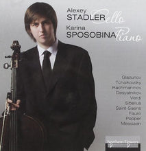 Load image into Gallery viewer, ALEXEY STADLER CELLO;  KARINA SPOSOBINA, PIANO
