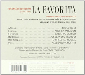 DONIZETTI: La Favorita (2 CDS)
