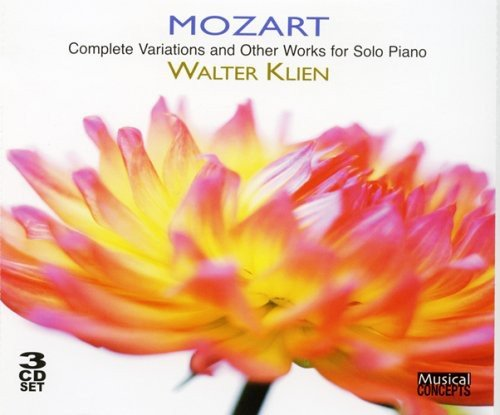 MOZART: COMPLETE VARIATIONS & OTHER SOLO PIANO WORKS - KLIEN (3 CDS)