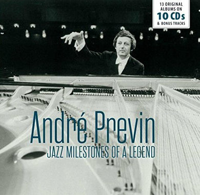 ANDRE PREVIN: JAZZ MILESTONES OF A LEGEND (10 CDS)