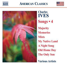 Load image into Gallery viewer, IVES: SONGS, VOLUME 4