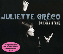 Load image into Gallery viewer, JULIETTE GRECO: BOHEMIAN IN PARIS (2 CDS)