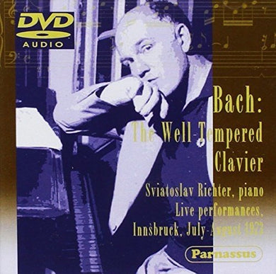 BACH, J.S.: 48 PRELUDES & FUGUES - LIVE IN INNSBRUCK 1973 - SVIATOSLAV RICHTER (DVD-AUDIO)