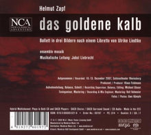 Load image into Gallery viewer, ZAPF: Das Goldene Kalb - Ensemble Mosaik; Jobst Liebrecht (2 CDs)