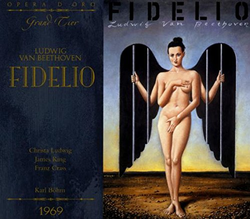 BEETHOVEN: FIDELIO - LUDWIG; KING; CRASS (2 CDS, RECORDED 1969)