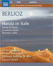 Load image into Gallery viewer, BERLIOZ: HAROLD EN ITALIE (BLU-RAY AUDIO) - SLATKIN; ORCHESTRE NATIONAL DE LYON; BERTHAUD; RADIVO