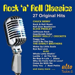 ROCK N' ROLL CLASSICS - 27 ORIGINAL HITS