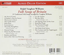 Load image into Gallery viewer, FOLK SONGS OF BRITAIN (ARR. BY RALPH VAUGHAN WILLIAMS) - DELLER CONSORT