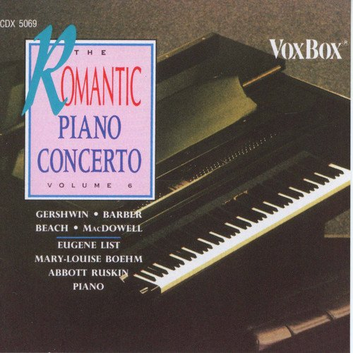 THE ROMANTIC PIANO CONCERTO, VOLUME 6 (2 CDS)