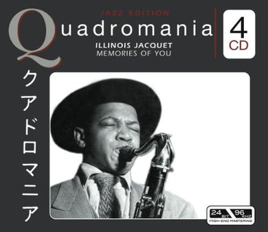 ILLINOIS JACQUET: MEMORIES OF YOU (4 CDS)