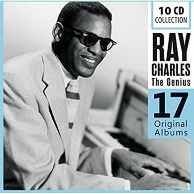 RAY CHARLES: THE GENIUS - 17 ORIGINAL ALBUMS (10 CDS)