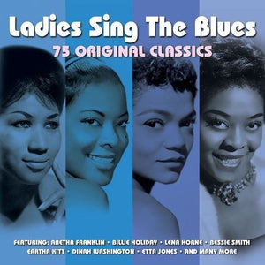 LADIES SING THE BLUES - Billie Holiday, Bessie Smith, Eartha Kitt, Dinah Washington, Etta Jones (3 CDs)