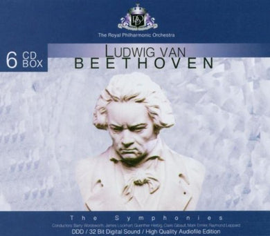 BEETHOVEN: COMPLETE SYMPHONIES - ROYAL PHILHARMONIC ORCHESTRA (6 CDS)