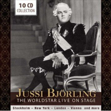 JUSSI BJORLING: LIVE ON STAGE (10 CDS)