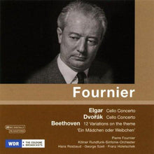 Load image into Gallery viewer, ELGAR; DVORAK; BEETHOVEN - PIERRE FOURNIER; ROSBAUD; SZELL; HOLETSCHEK; KOLNER RSO
