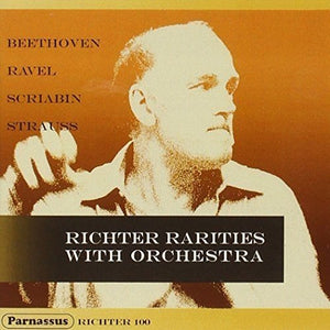 RICHTER RARITIES WITH ORCHESTRA