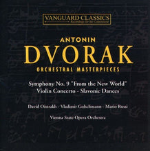 Load image into Gallery viewer, DVORAK: ORCHESTRAL MASTERPIECES (2 CDS)