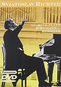 RICHTER PLAYS SCHUMANN & RUSSIANS (DVD)