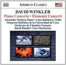 Load image into Gallery viewer, WINKLER: PIANO CONCERTO; ELEMENTS CONCERTO - PANIZZA; RABINOVA; HANDEL; MEYLEMANS; ORQUESTA SINFONICA DE LA UNIVERSIDAD DE CUYO