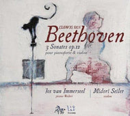 Beethoven: Sonatas, Op. 12 for fortepiano and baroque violin - Midori Seiler, Jos van Immerseel