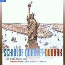 Load image into Gallery viewer, DVORAK: PIANO QUINTET IN A; STRING QUARTET NO. 12 - SCHIDLOF QUARTET