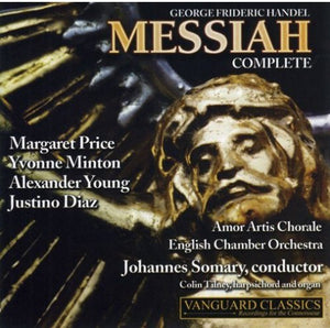 HANDEL: MESSIAH - ENGLISH CHAMBER ORCHESTRA, AMOR ARTIS CHORALE (2 CDS)