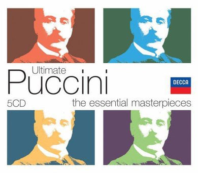ULTIMATE PUCCINI BOX - 5 CDS