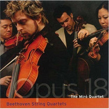 Load image into Gallery viewer, BEETHOVEN: STRING QUARTETS, OPUS 18 COMPLETE - MIRO QUARTET (2 CDS)