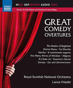 GREAT COMEDY OVERTURES (BLU-RAY AUDIO) - ROYAL SCOTTISH NATIONAL ORCHESTRA; FRIEDEL