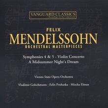 Load image into Gallery viewer, MENDELSSOHN: ORCHESTRAL MASTERPIECES (2 CDS)