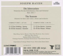 Load image into Gallery viewer, HAYDN: The Seasons - Freiberger Bachorchester (2 CDs)