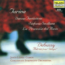 Load image into Gallery viewer, Music Of Turina And Debussy - Jesus Lopez-Cobos, Cincinnati Orchestra