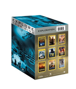 NATIONAL GEOGRAPHIC - EXPLORE YOUR MIND: EXPLORATION (9 DVDS)