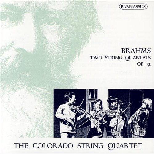 BRAHMS: TWO STRING QUARTETS, OP. 51 - COLORADO STRING QUARTET